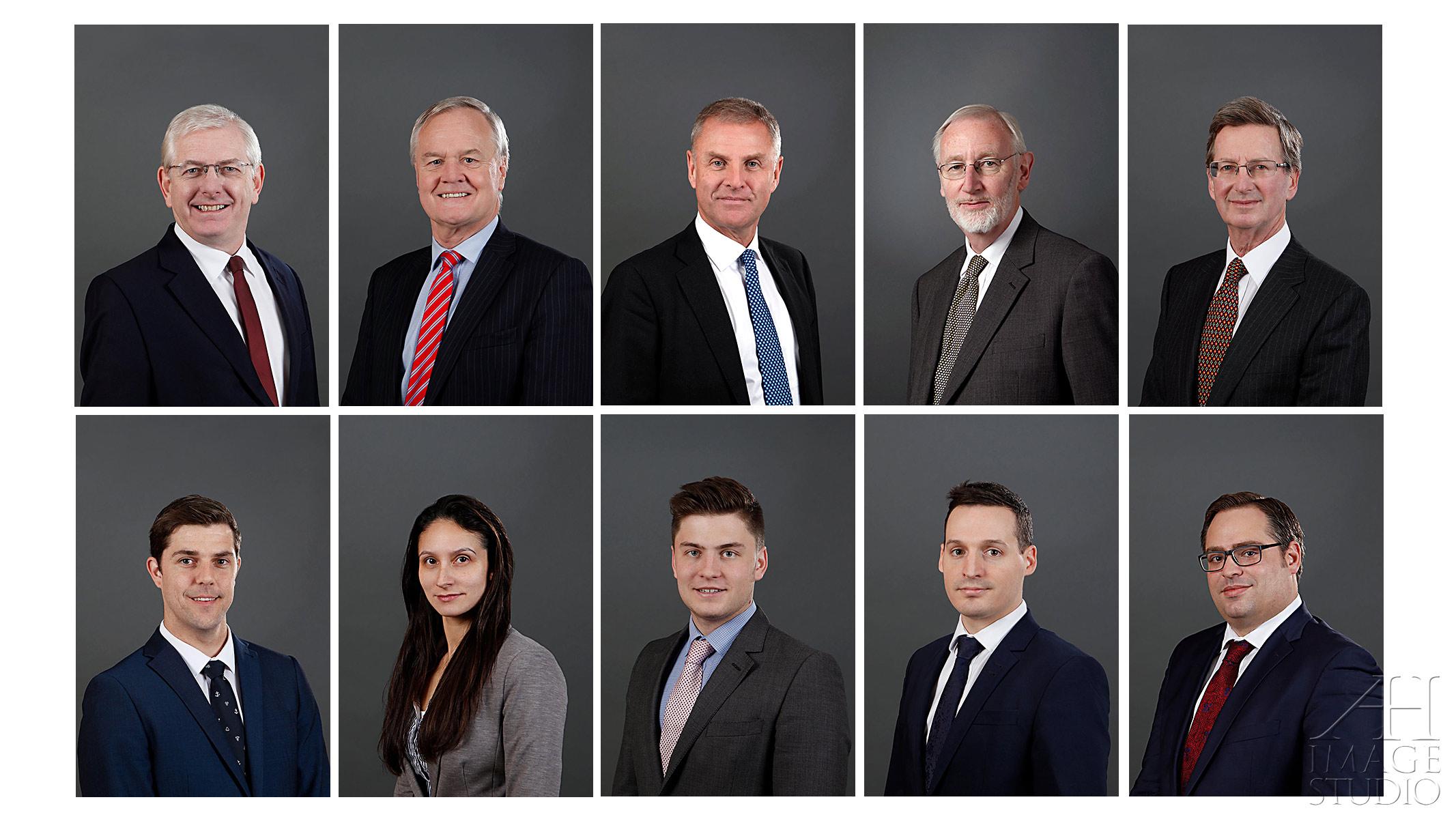 corporate headshots portraits